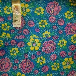LuLaRoe Pants - Floral TC Leggings